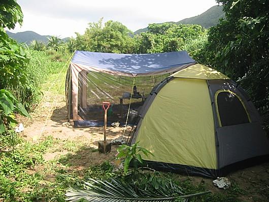 ジャングルキャンプ??