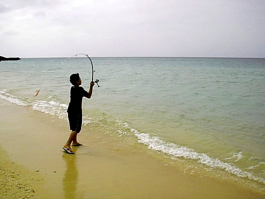 初心者でも出来る釣り。