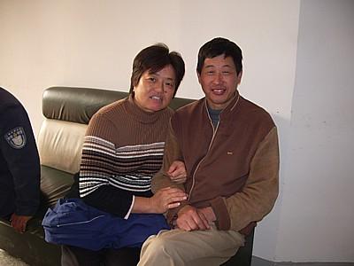 上海 宿のオーナー夫婦