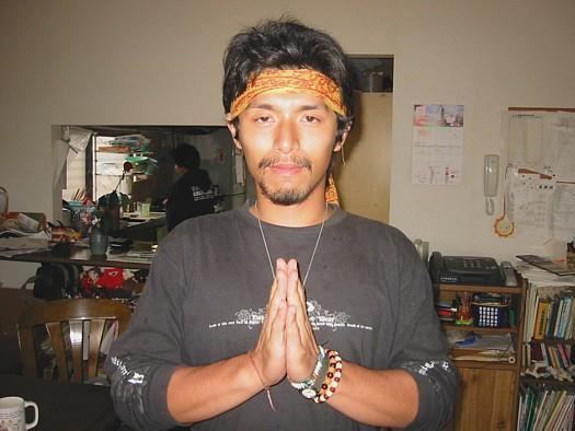 タイの人。