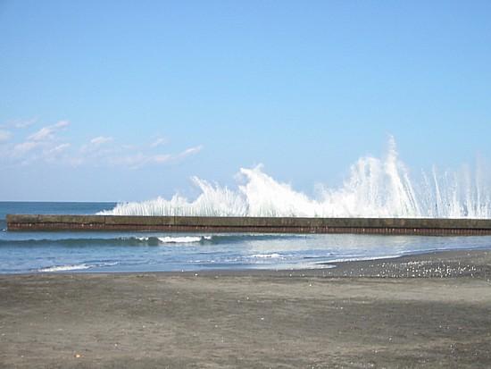 太東海水浴場突堤